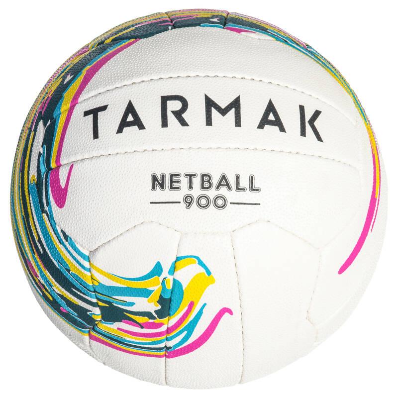NETBALL Basketbal - MÍČ NETBALL 900 BÍLÝ TARMAK - Basketbalové míče