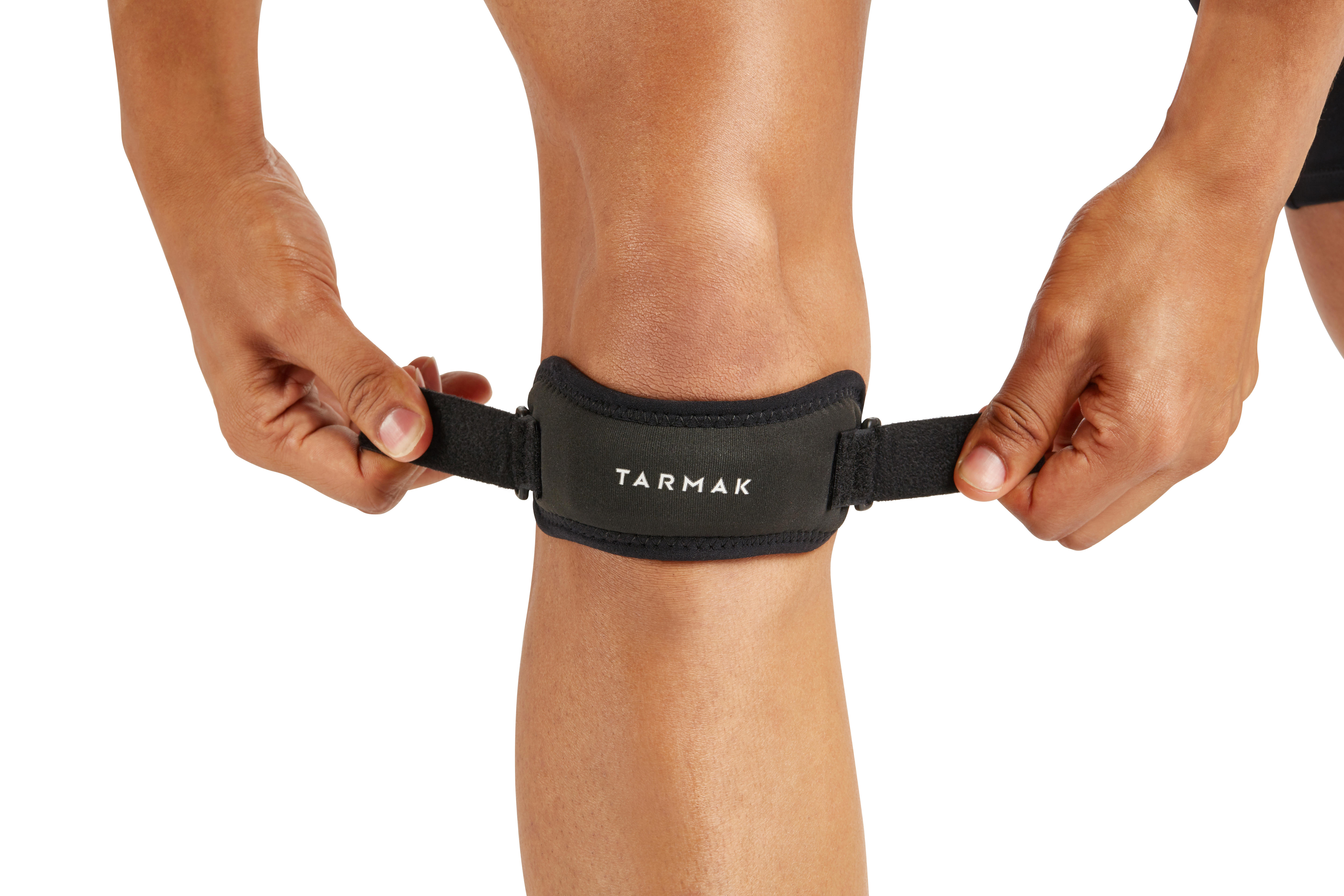 Men's/Women's Left/Right Knee Strap - Black