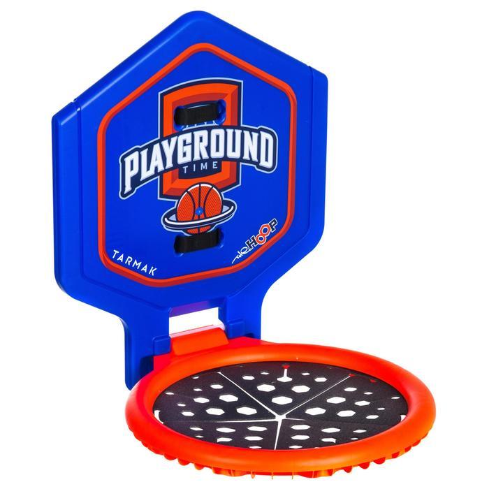 Panier de basket enfant/adulte THE HOOP Playground bleu orange. Transportable. - 1336446