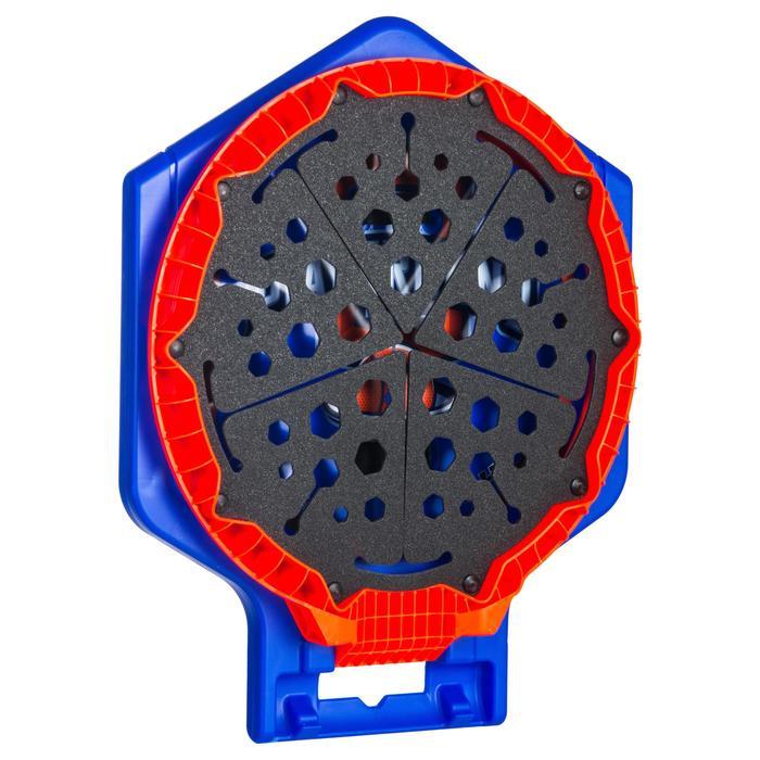 Panier de basket enfant/adulte THE HOOP Playground bleu orange. Transportable. - 1336447