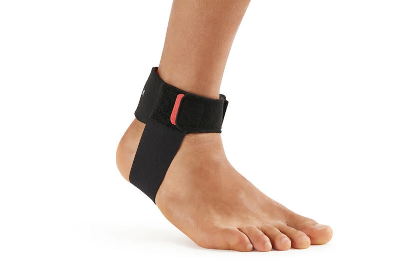 Left/Right Achilles Tendon Support Strap Black