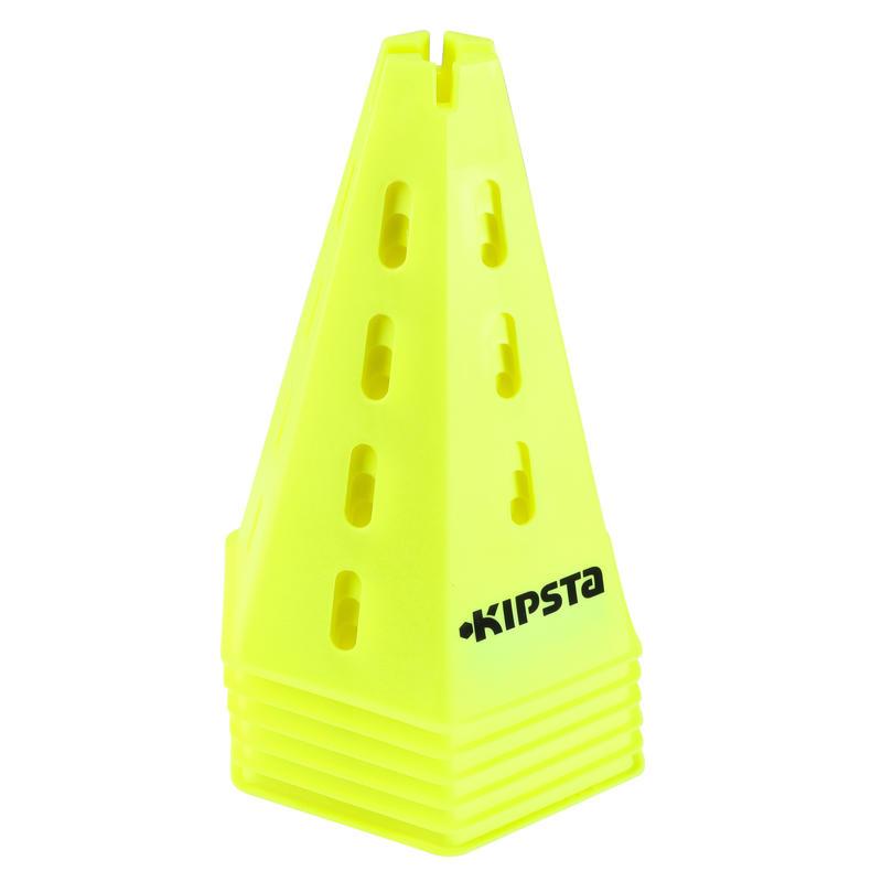 Modular 30 cm Cones x 6 - Yellow