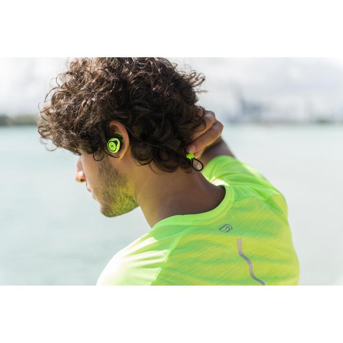 Auriculares Inalámbricos Bluetooth Running Kalenji Onear 500 Amarillo/Negro