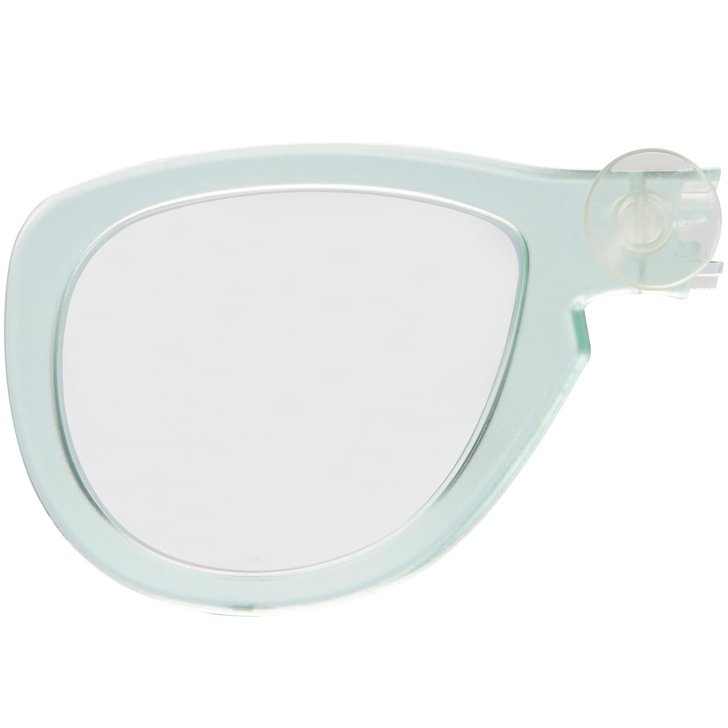 Subea Correctieglas rechts bijziendheid voor het Easybreath-masker muntgroen kopen
