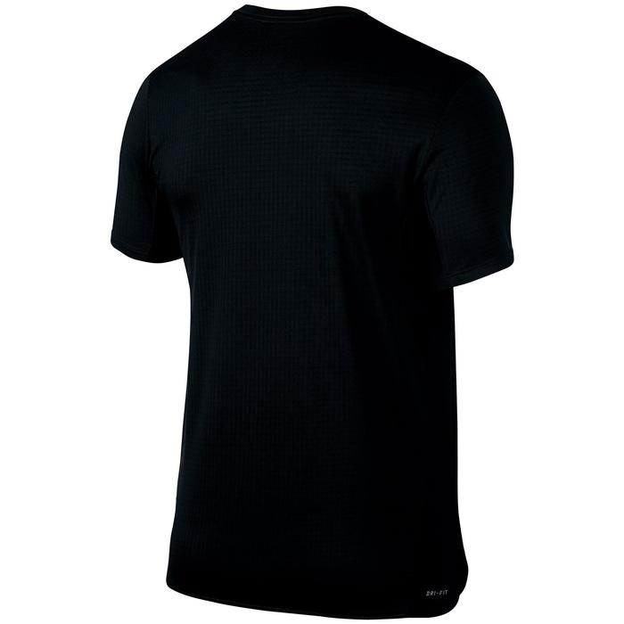 T-Shirt Challenger Tennis Herren schwarz