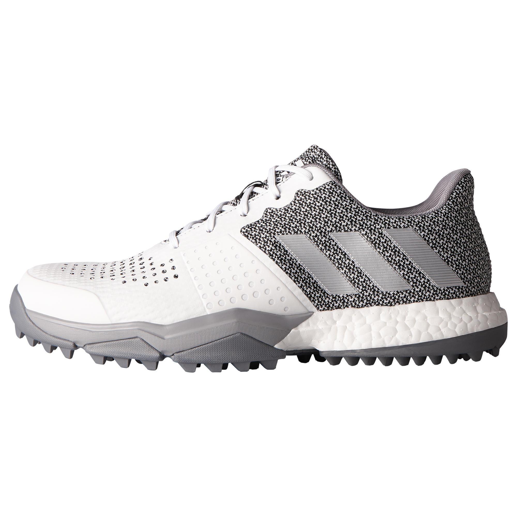Adidas Golfschoenen Adipower Boost voor heren wit