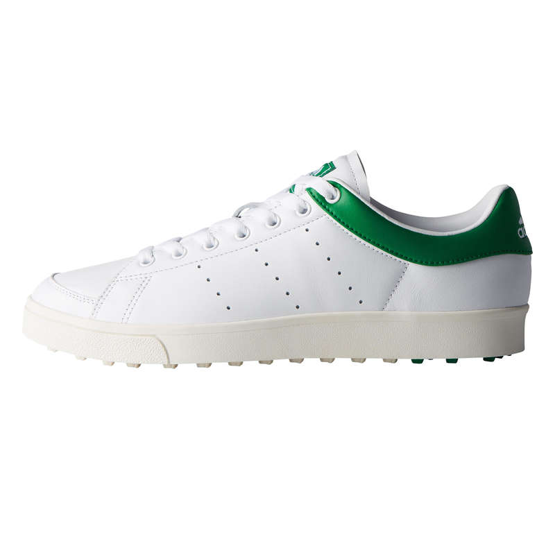 MENS WARM WEATHER GOLF SHOES Golf - Adicross Classic White ADIDAS - Golf