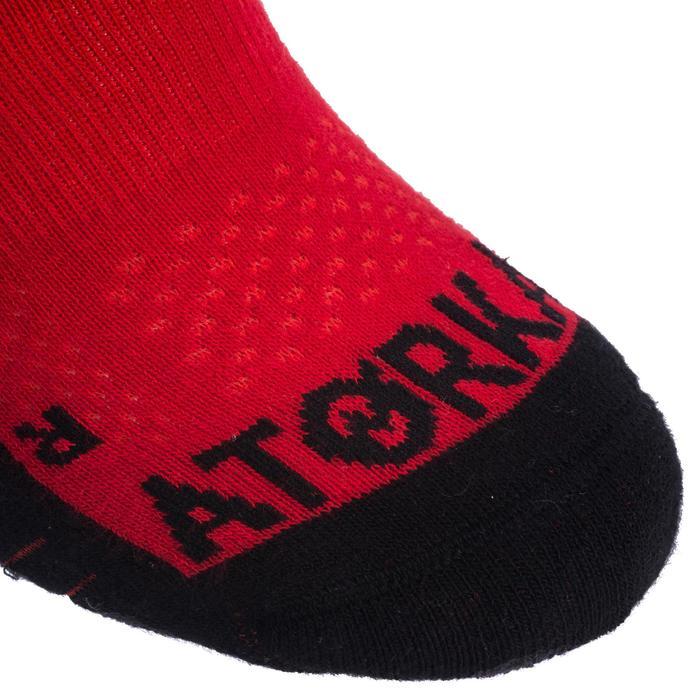 Handbalsokken H500 rood/zwart
