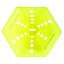Pionnen set van 6, 30 cm hoog geel - 133663
