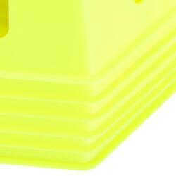 Pionnen set van 6, 30 cm hoog geel - 133664