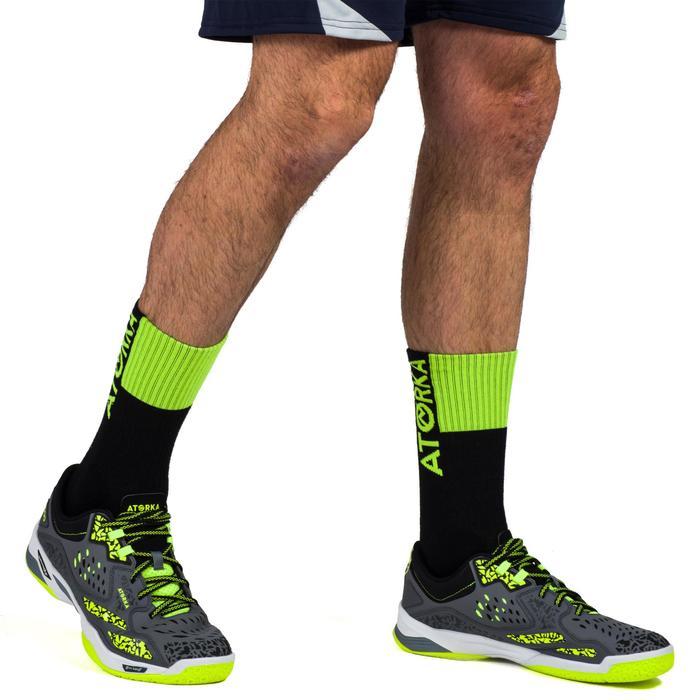 Handbalsokken voor volwassenen H500 zwart/groen