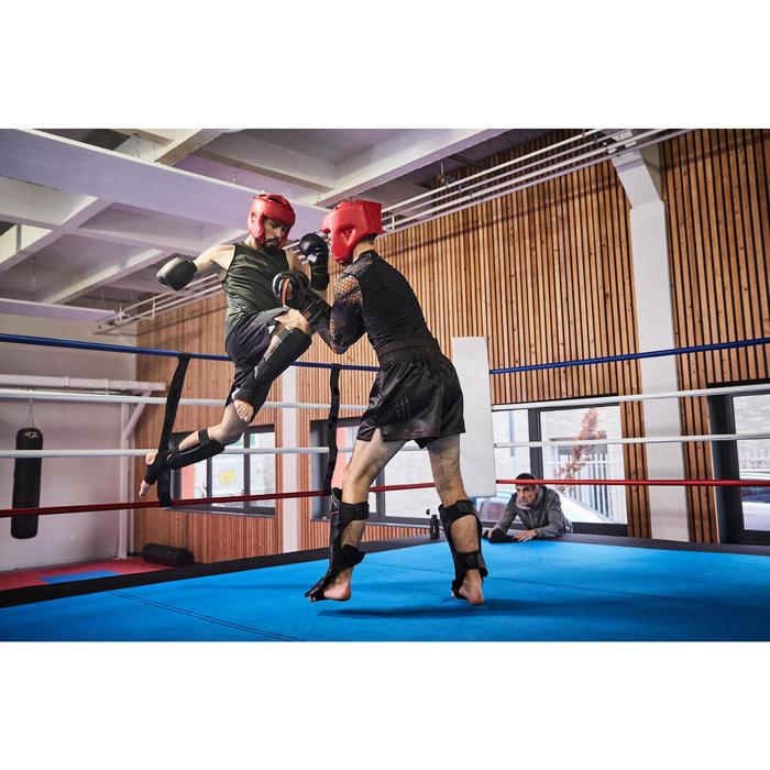 gants de boxe 300 blancs , gants d'entraînement débutant homme ou femme - 1336696