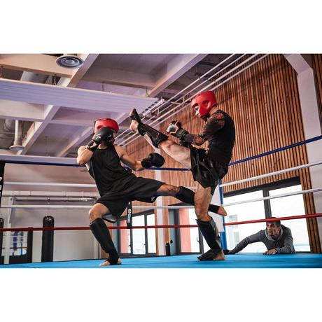 prot ge tibia et pied pro boxe entrainement domyos by. Black Bedroom Furniture Sets. Home Design Ideas