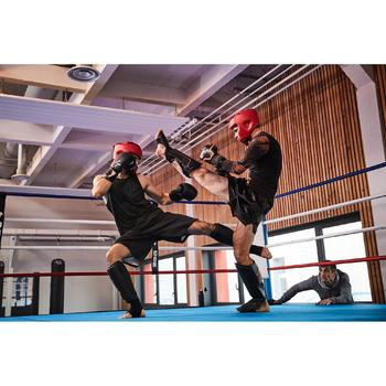 gants de boxe 300 blancs , gants d'entraînement débutant homme ou femme - 1336697