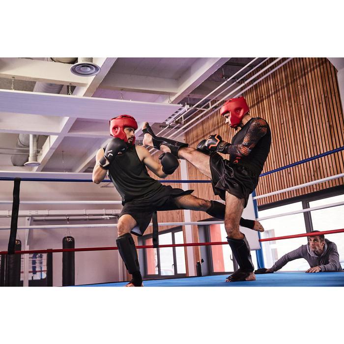 gants de boxe 300 blancs , gants d'entraînement débutant homme ou femme - 1336698