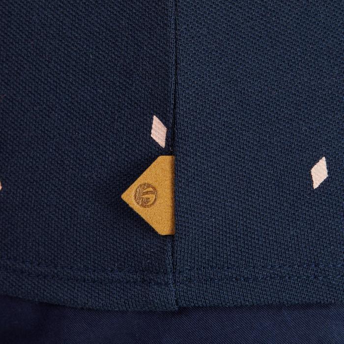 520 Women's Golf Short Sleeve Warm Weather Polo - Diamond Navy Blue