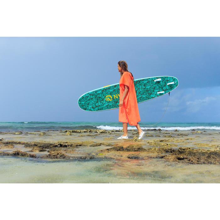 PONCHO SURF ADULTO 500 Melocotón
