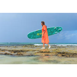 SURF PONCHO ADULT 500 Peach