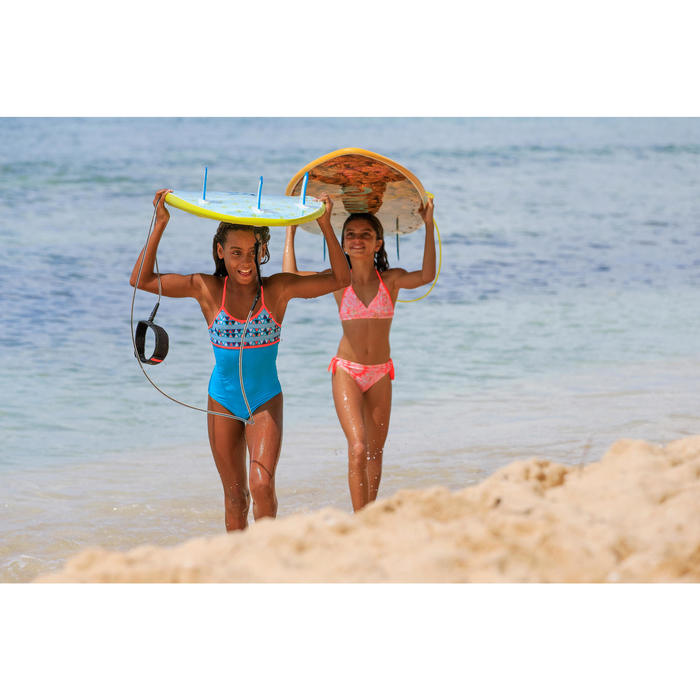 Bikini Surf Olaian Tami Malou Niña Rosa Coral