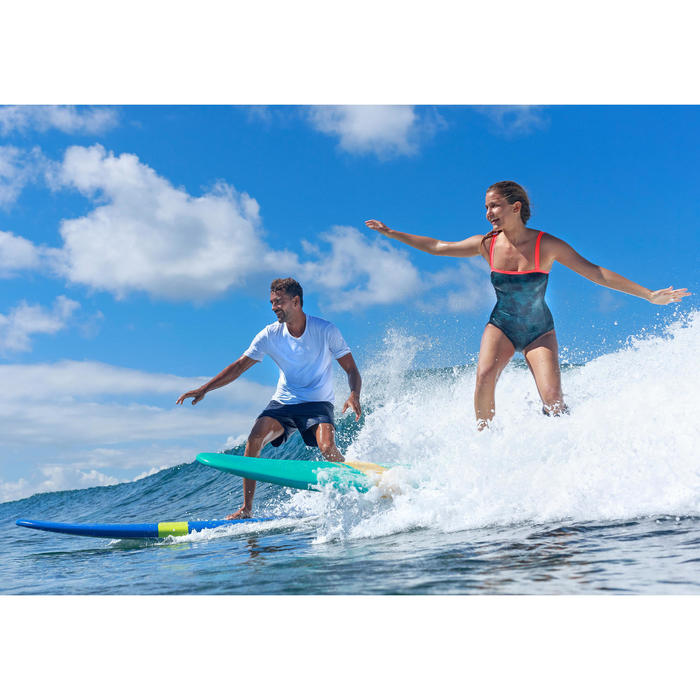 Heren zwembroek / korte boardshort Hendaia NT blauw