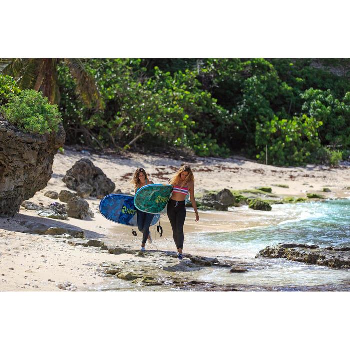 Zapatillas Playa Surf Olaian Mujer Tela Cerradas Azul Oscuro