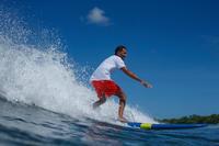 """Boardshort para hombre. Surf Olaian Hendaia NT Rojo 16"""""""