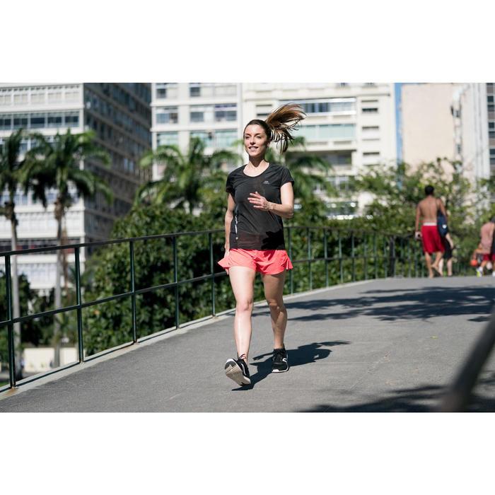 Chaussures marche sportive femme Soft 540 Mesh noir / blanc