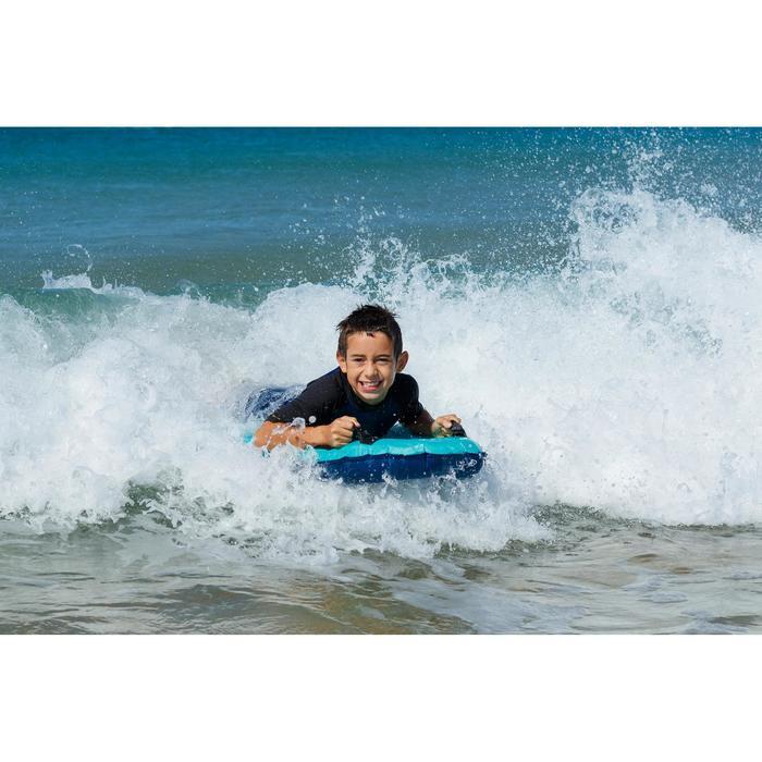Bodyboard aufblasbar Discovery mit Griffen Kinder blau
