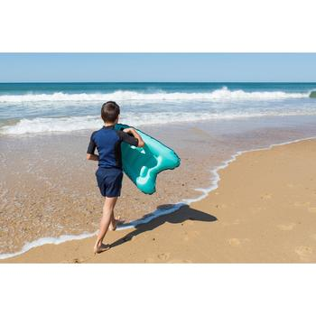 Opblaasbaar bodyboard Discovery voor kinderen blauw met grepen