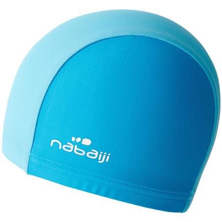 Baby's Two-Colour Mesh Swim Cap Blue