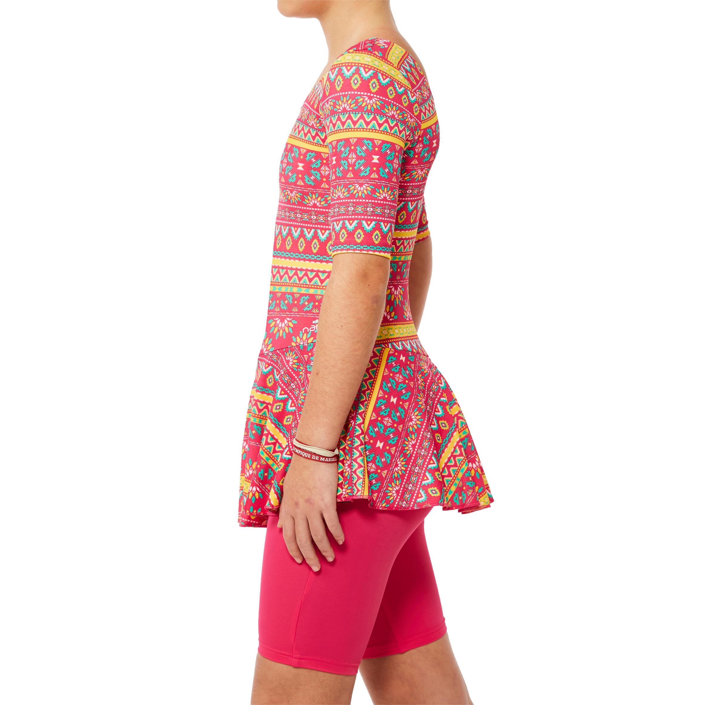 Girl swimming costume audrey jammer- Plum Pink