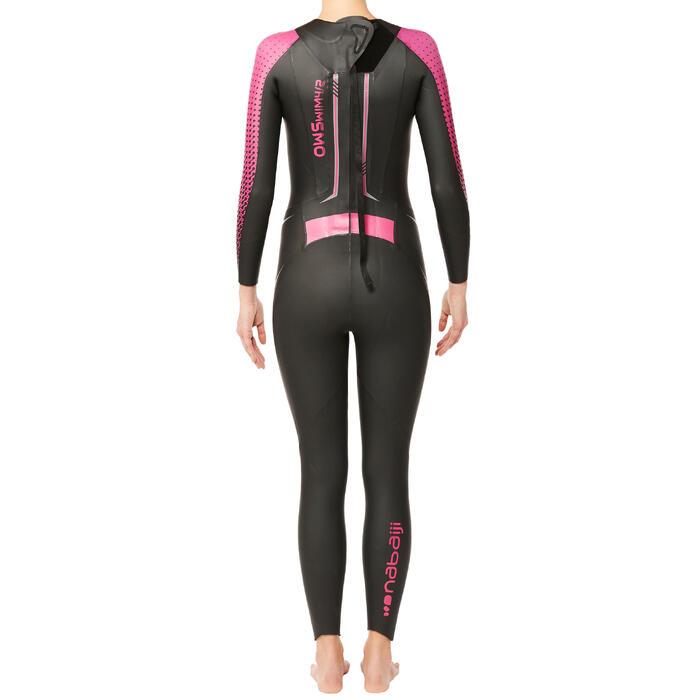 Combinaison natation néoprène OWS 900 4/2mm femme eau froide - 1337007