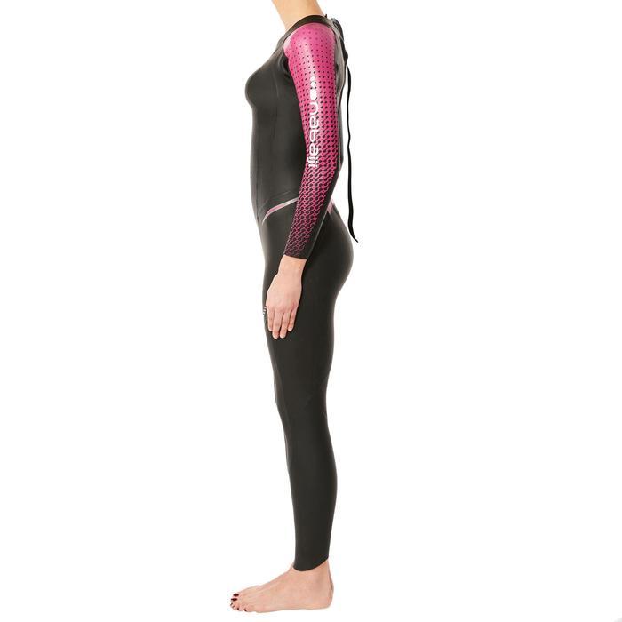 Combinaison natation néoprène OWS 900 4/2mm femme eau froide - 1337008