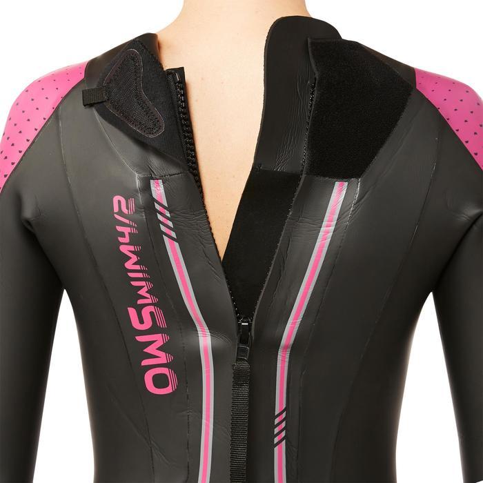 Combinaison natation néoprène OWS 900 4/2mm femme eau froide - 1337010