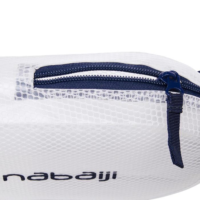 POCHETTE de NATATION IMPERMéABLE 100 3L bleu blanc
