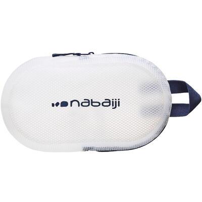 حقيبة ضد الماء للسباحة 100 3 لتر - أزرق / أبيض
