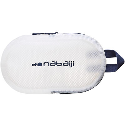 100 3L Waterproof Swimming Pouch - Blue White
