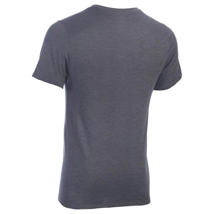 T-Shirt 520 slim col V Gym & Pilates homme printé - 1337224