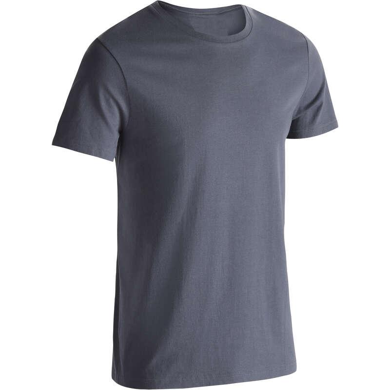 ERKEK TİŞÖRT, ŞORT Pilates - 100 GYM TİŞÖRTÜ NYAMBA - Erkek Pilates Kıyafetleri
