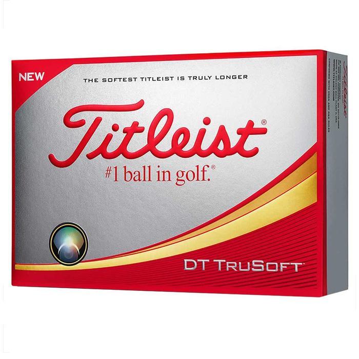 Bola de golf DT TRUSOFT x12 Blanco