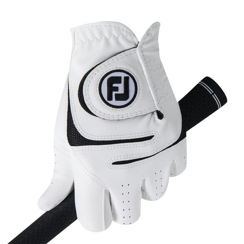 Men's golf Weathersof right-handed glove white
