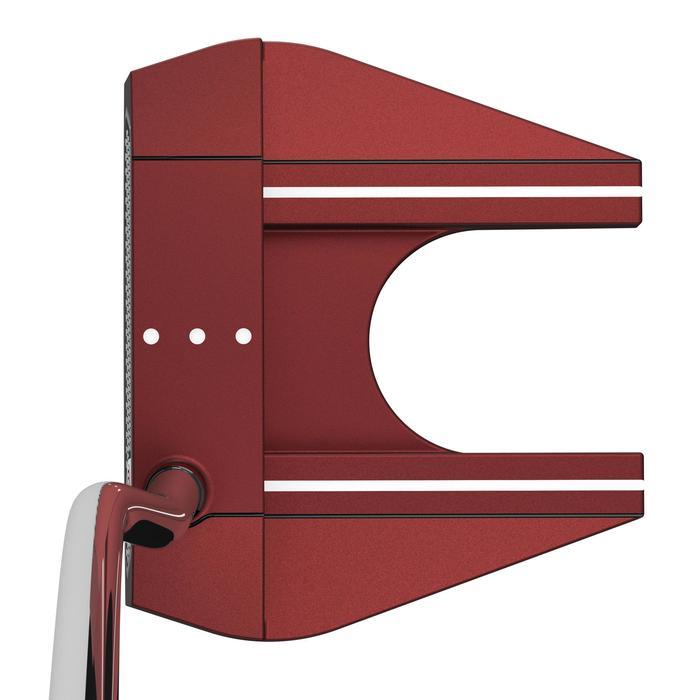 Golfputter O-Works #7 voor volwassenen, rechtshandig, rood - 1337263