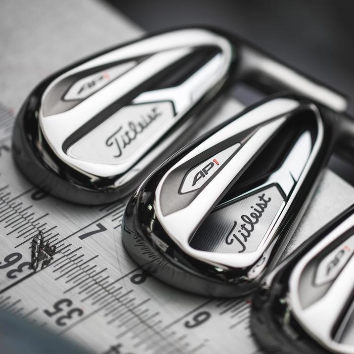 Set golf irons voor heren rechtshandig AP1 5-PW grafiet regular