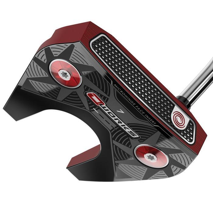 Golfputter O-Works #7 voor volwassenen, rechtshandig, rood - 1337276