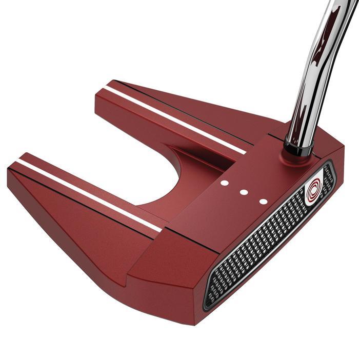 Golfputter O-Works #7 voor volwassenen, rechtshandig, rood - 1337284