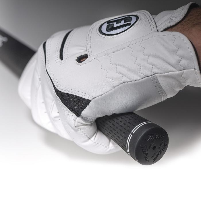 Golfhandschuh WeatherSof Herren weiß