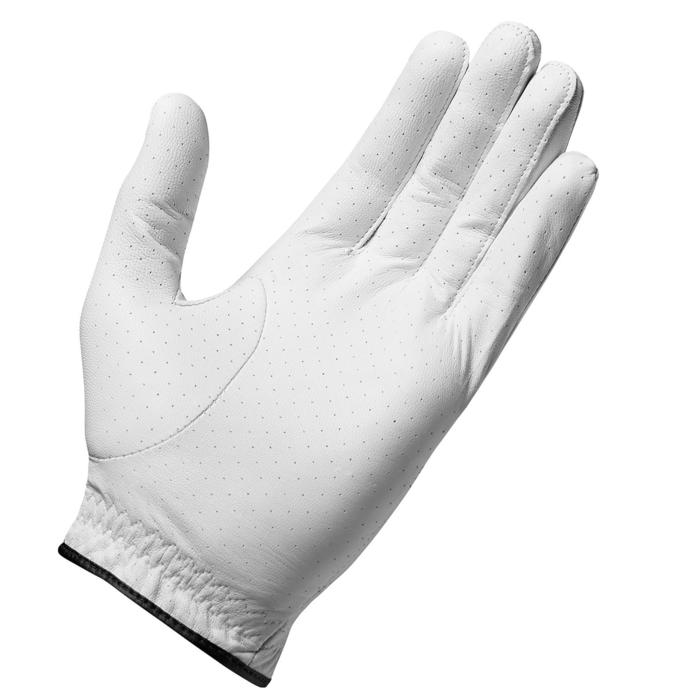 Golfhandschoen voor heren gevorderden en experts RBZ rechtshandig wit