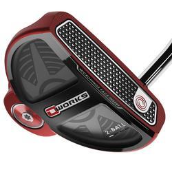 Golfputter Odyssey O'Works 2-balls voor volwassenen, rechtshandig