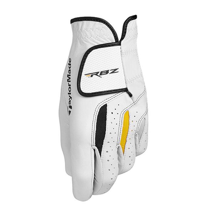 Golfhandschoen RBZ voor heren, gevorderde en ervaren spelers, rechtshandig wit