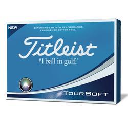 Golfballen Tour Soft x12 wit